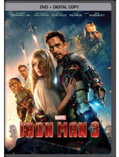 Iron Man 3 (DVD + Digital Copy)