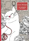 Chat thérapie: 100 coloriages anti-stress par Segond-Rabilloud