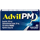 Advil PM (80 Count) Pain Reliever/Nighttime Sleep