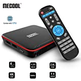 Android TV Box 7.1, MECOOL Android Box 2GB RAM + 16GB ROM Quad Core DDR3, Streaming Media Player 3D 4K HDR Ultra HD, Smart TV Media Box,Support HDMI/H.265/2.4G WiFi