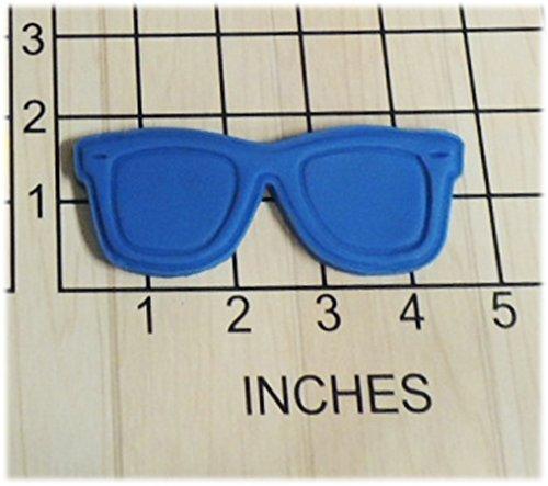 Nerd Beach Sun Glasses Shaped Cookie Cutter and Stamp - Nerds Sunglasses