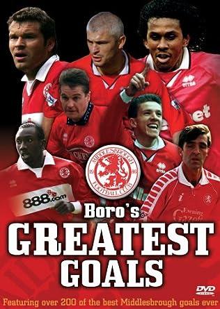 0b360d28629 Boro s Greatest Goals - Middlesbrough FC  DVD   Amazon.co.uk  John ...