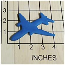 Jet airplane Fondant Cookie Cutter #1411