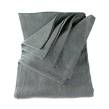 SE BI64847GR 64X84 Wool Blanket (Gray) (80-Percent Wool) 4 Lbs