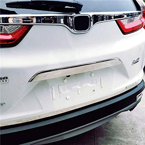 KUST hst38422w Chrome Rear Trunk Lid Tailgate Door Cover Trim Molding Trim Molding Cover fit for Honda CRV 2017,Pack of 1 Piece of Door Trunk Lid Cover Decorate Trim Cover
