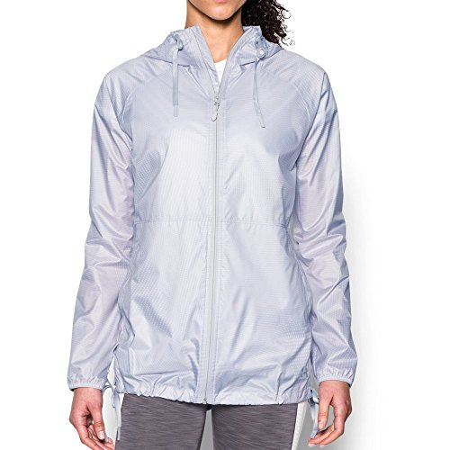 Under Armour Women's Do Anything Jacket, White/Glacier Gray, (Glacier Systems Jacket)