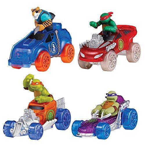 Teenage Mutant Ninja Turtles T Machines Basic Vehicle 4 Pack Set