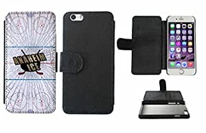 Anaheim Ice Leather Phone Case Cover with Credit Card Holder Apple iPhone 6 (4.7 Inches)
