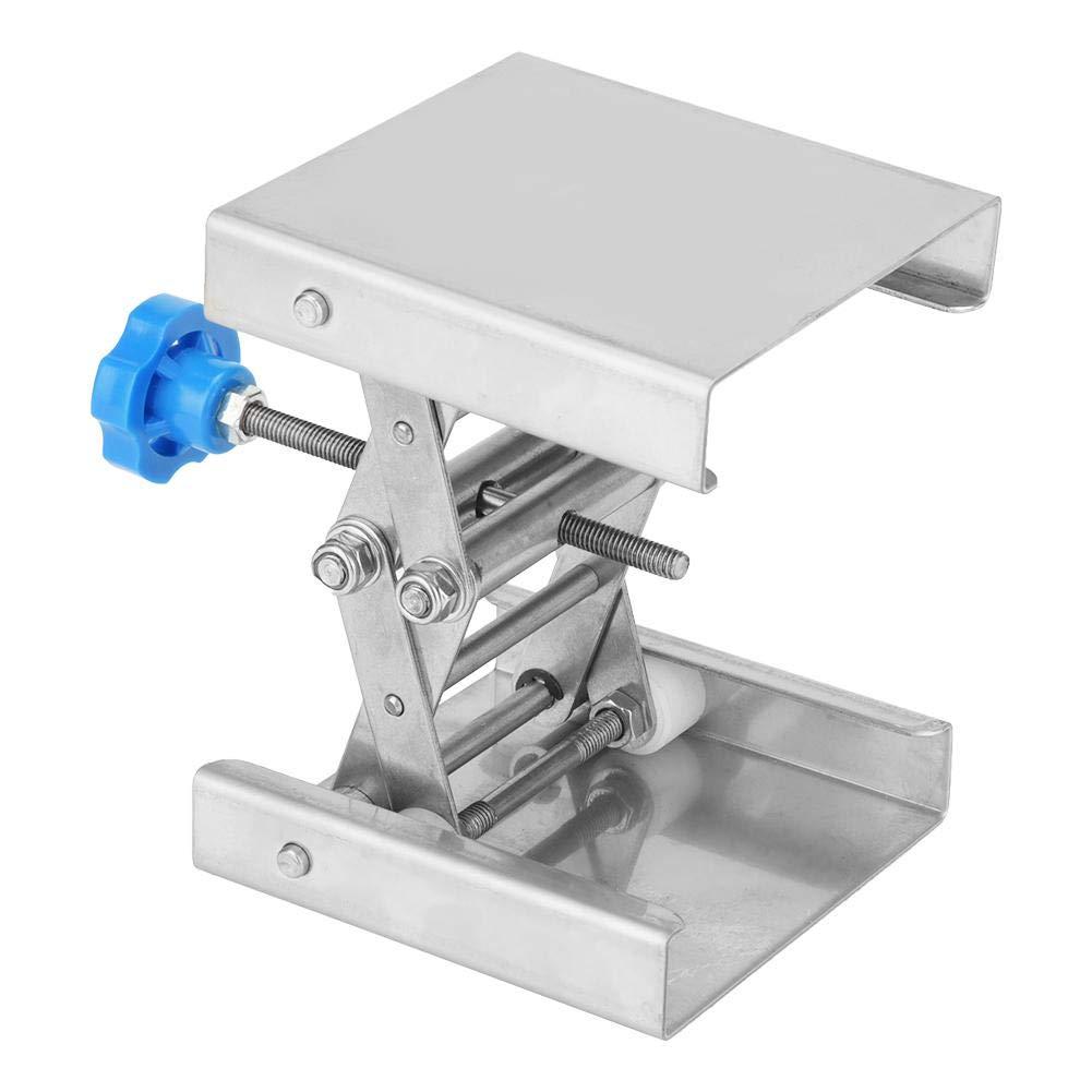 304 Stainless Steel Lifting Platform Lab Lifting Platform Stand Rack Scissor Lab-Lift 100100160mm