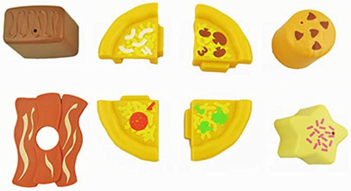 Fisher-Price Laugh and Learn Servin' Up Fun Food Truck Playset DYM74 - Replacement Play Pizza, Bacon, Cookies and Brownie