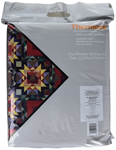 """Hobbs Heirloom Fusible Cotton Batting For Quilting Queens Size 90x108/"""""""