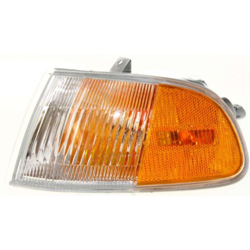 Diften 116-A2257-X01 - New Set of 2 Corner Lights Parking Side Marker Lamps Left & Right Coupe Pair