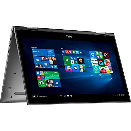 """Dell - Inspiron 2-in-1 15.6"""" Touch-Screen Laptop - Intel Core i7-16GB RAM - 512GB SD - Gray"""