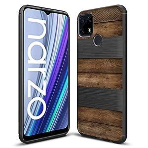 Fashionury Realme C25s / Realme Narzo 30A/ Narzo 20/ Realme C12 Designer Rubberized Back Case Cover -HB010