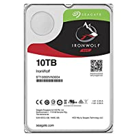 Seagate ST10000VN0004 HDD Internal  10 TB IronWolf SATA 3.5 Computer Hard Disk Drive - Silver