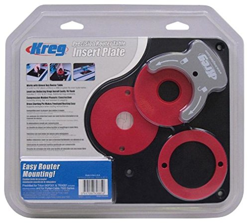 KREG Molded Router Table Insert Plate for Triton Routers - Table Router Insert