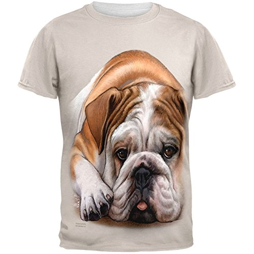 English Bulldog Live Forever All Over Ad - Accessories : Mens Clothing Necklaces Shopping Results