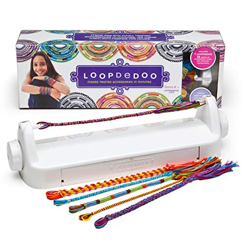 Loopdedoo - Spinning Loom Friendship Bracelet Maker - Award-Winning Craft Kit - Design Your Own Bracelets & Make Them in Minutes ()