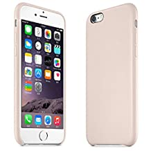 ABC(TM)Fashion New Ultra-thin Luxury PU Leather Case Cover For iPhone 6 4.7inch(Beige)