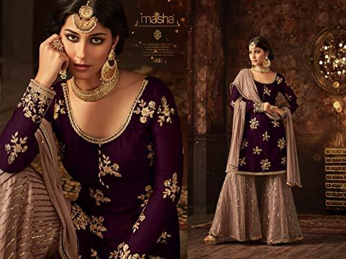 Cucito Abito Amit Completo Semi Designer Salwar Indiano Fashions Da Esclusivo ZqfwgY
