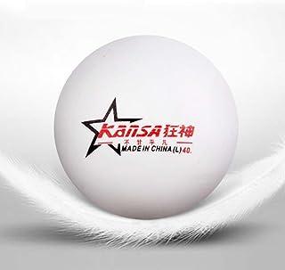 Kansa 1-star 40mm palline da ping pong Premium training, 6palle da ping pong