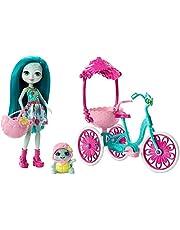 Enchantimals - Bicicleta de Paseo, accesorios muñecas (Mattel FCC65)