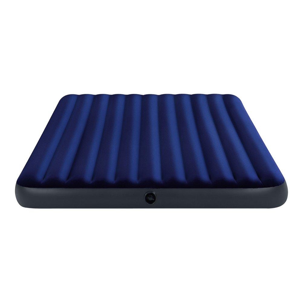 Intex Luftbett Classic Downy Blue King, Blau, 183 x 203 x 22 cm 3268755