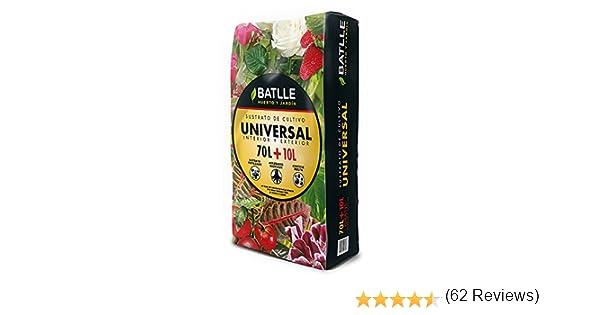 Sustratos - Sustrato Universal 80l. - Batlle: Amazon.es: Jardín