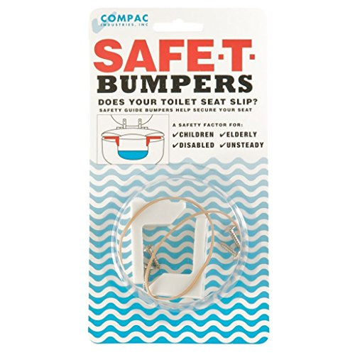 Compac Safe-T-Bumpers Toilet Seat Stabilizers