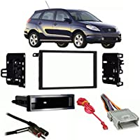 Fits Toyota Matrix 2003-2004 Double DIN Stereo Harness Radio Install Dash Kit