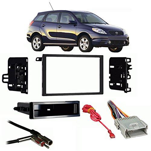 Fits Toyota Matrix 2003-2004 Double DIN Stereo Harness Radio Install Dash Kit (Toyota Harness Stereo)