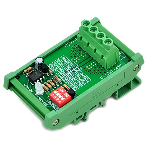 CZH-LABS Electronics-Salon DIN Rail Mount LVD Low Voltage Disconnect Module, 24V 30A, Protect Battery.