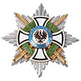 iron cross medal - Heerpoint Reproduction WWI German Hausorden Von Hohenzollern Star Iron Cross Military Medal Badge
