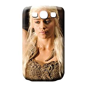 samsung galaxy s3 cell phone carrying skins Plastic Shock-dirt Hot Style emilia clarke in game of thrones