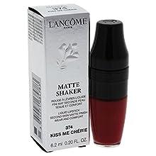 Lancome Matte Shaker Liquid Lipstick, Kiss Me Cherie, 0.2 Ounce