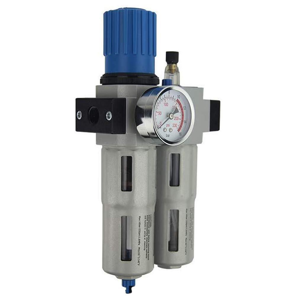 Preciso OU-4010-N1   2 Pneumatic 1 2 Filter Regulator Lubricator