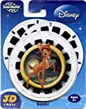 : ViewMaster - Disney's Bambi 3D Disks - 3 Reel Set by 3Dstereo ViewMaster