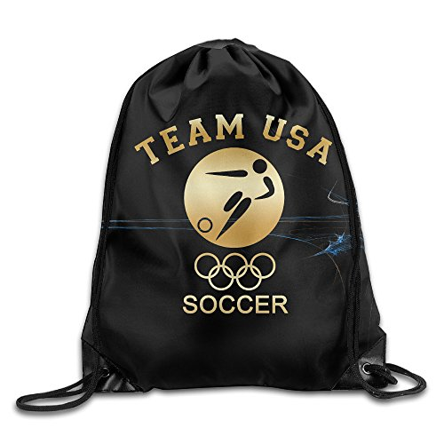 2016 Olympic Team USA Soccer Gold GYM Drawstring Backpack...