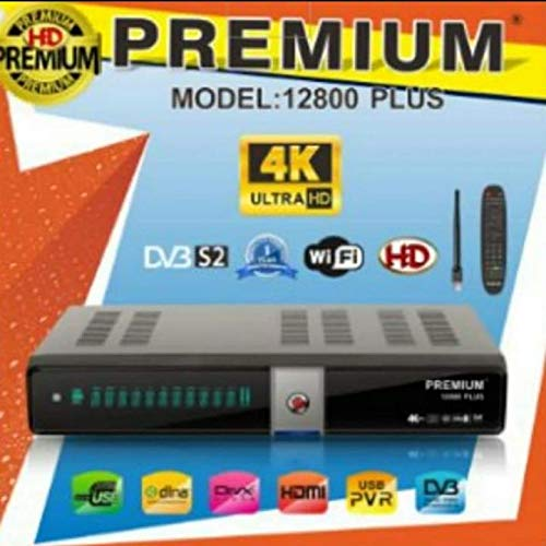 4K Premium HD 12800 4K SATELLITE RECEIVER