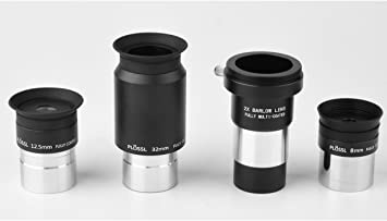 8mm//20mm Plossl Eyepieces Set for Telescope 1.25inch 8-24mm  Eyepiece