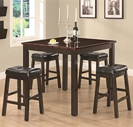 Coaster Sophia 1500 Black Dining Set