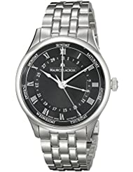 Maurice Lacroix Mens MP6507-SS002-310 Tradition Analog Display Swiss Automatic Silver Watch