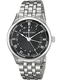 Men's MP6507-SS002-310 Tradition Analog Display Swiss Automatic Silver Watch