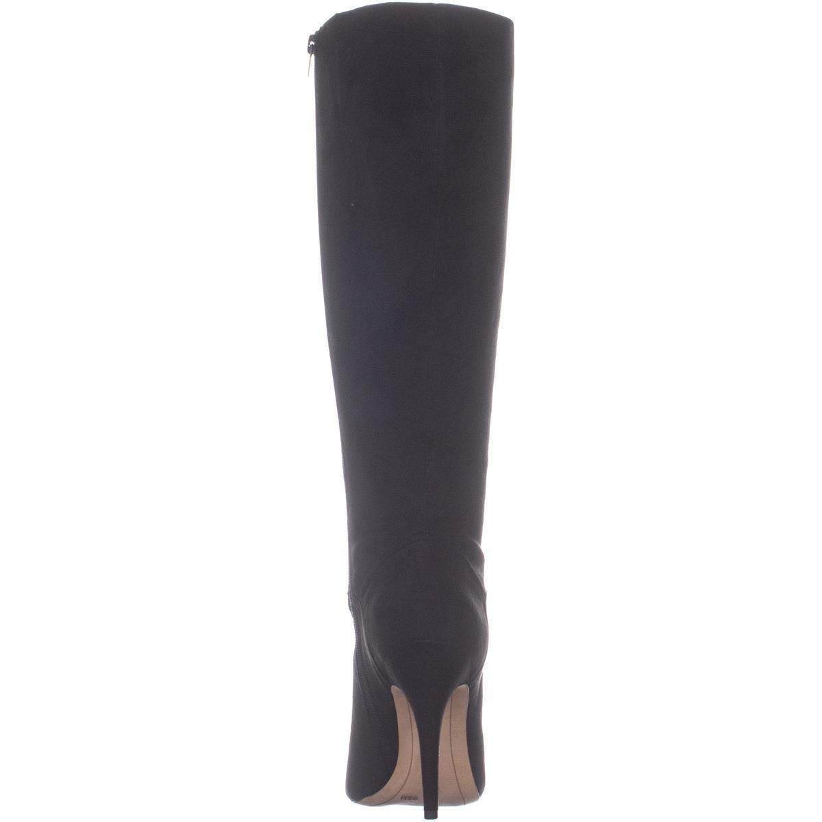 INC Womens Taisa Solid Almond Toe Knee-High Boots
