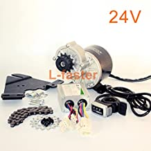 350W Electric Bike Left Side Drive Motor Kit Mountain Bicycle Conversion Kit Customized Electric Motor Kit For suspended bike Wuxing thumb throttle