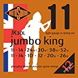 Rotosound JK30L Jumbo King  Phosphor Bronze Acoustic Guitar Strings 12 String (11 14 10 12 20 26 11 14 24 30 38 52)