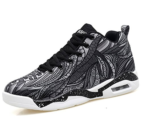 Leisure Practise Women's Huaishu Sports Mountaineer Slip Wearable Shoes Outdoors Lightweight Breathability High Athletic Basketball Hiking amp; Sports Black Shoes Climbing Anti 7xvqAxfBdw