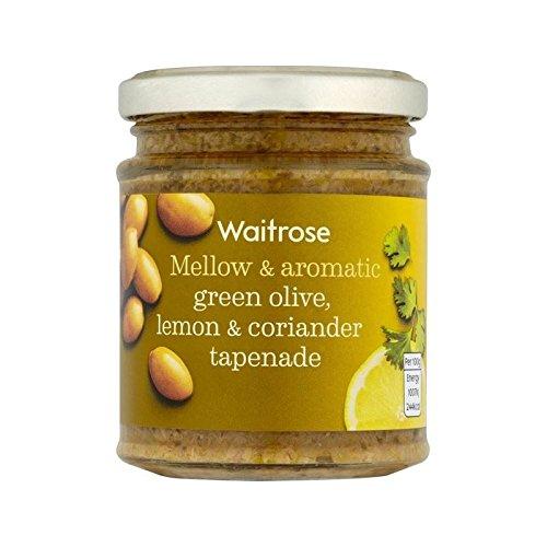 Tapenade Green Olive Lemon & Coriander Waitrose 165g - Pack of 6 by WAITROSE