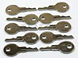 EZGO KEY FOR ALL STOCK EZGO GOLF CARTS (SET OF 10)