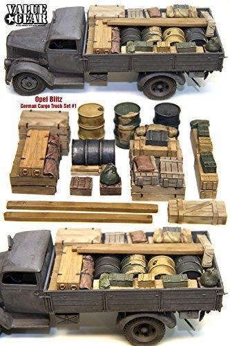1/35 Opel Blitz cargo set 1 German [GOB01] Opel Blitz German Cargo Truck Load # (Opel Blitz Cargo Truck)